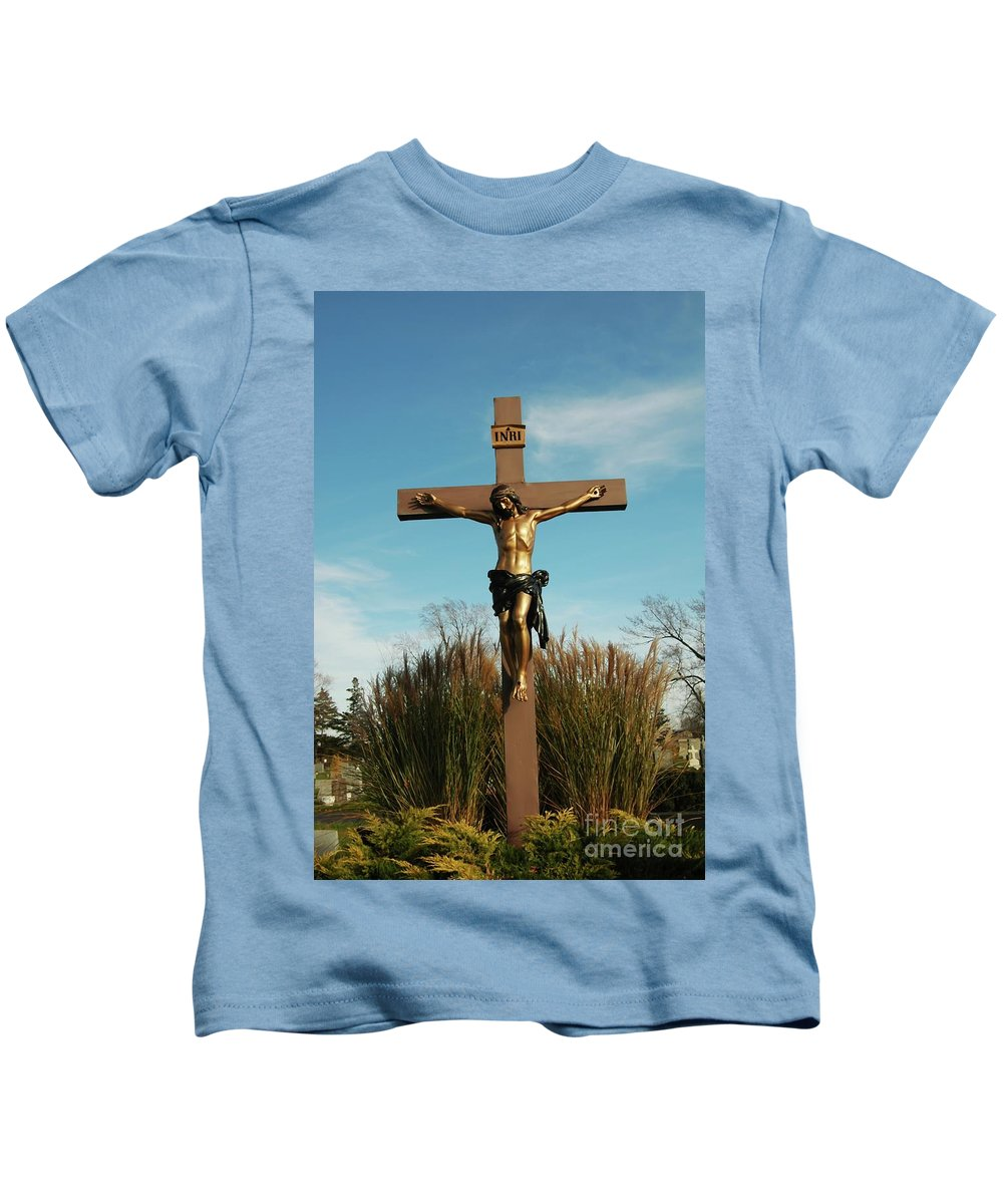 Jesus Kids T-Shirt featuring the photograph Amazing Love by Kathleen Struckle