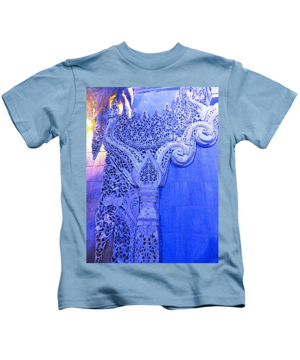 Stone Kids T-Shirt featuring the photograph Around The Corner by Candee Lucas