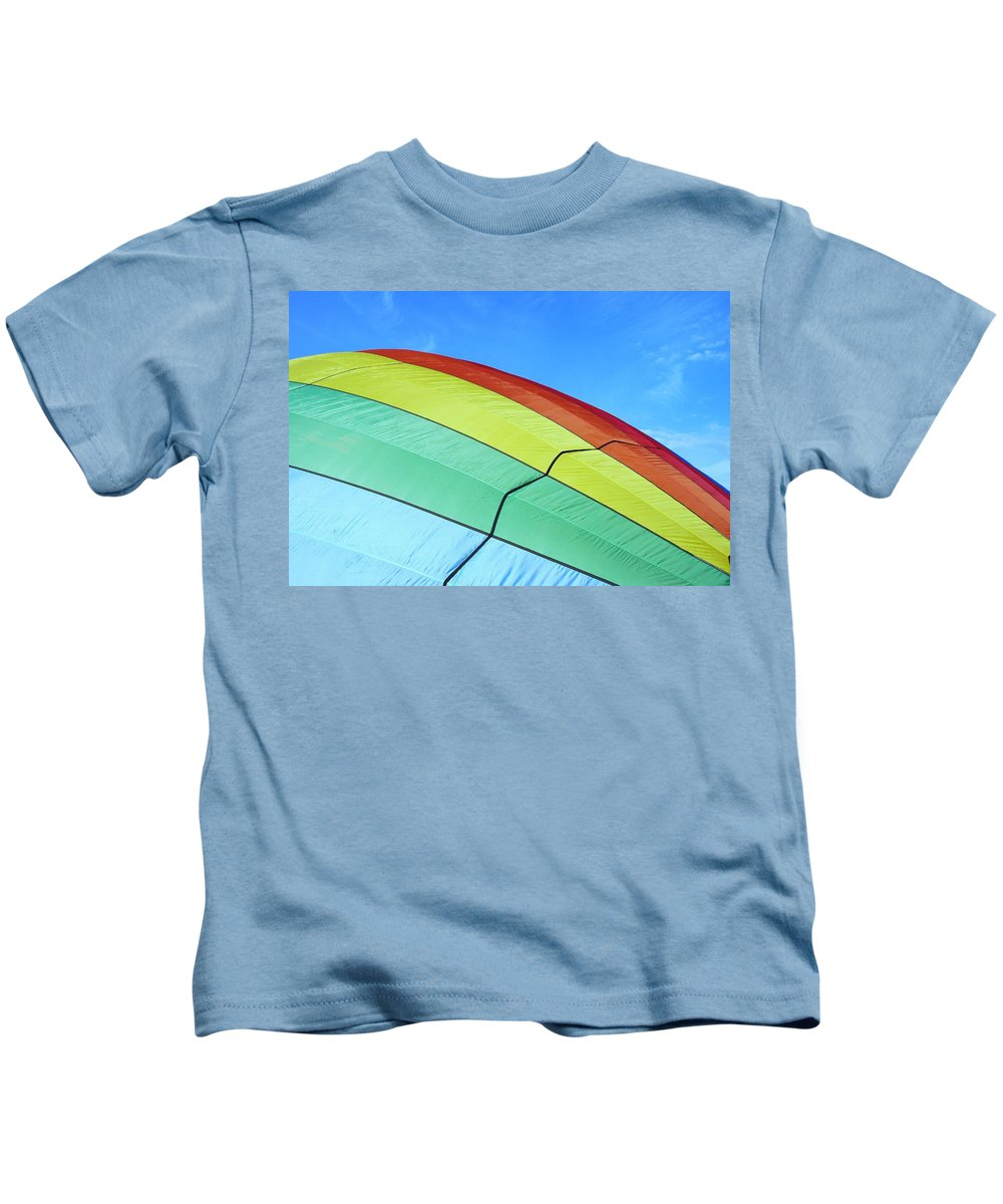 Colors Kids T-Shirt featuring the photograph Balloon Fantasy 45 by Allen Beatty