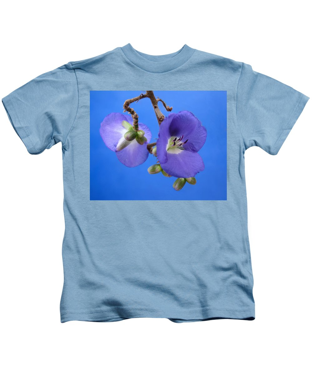 Orchid Kids T-Shirt featuring the photograph Blue Orchid by Rudy Umans