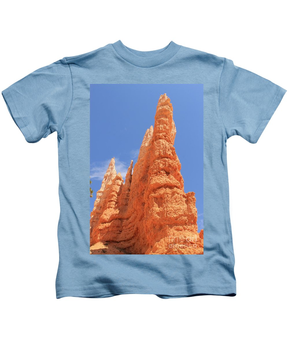 Bryce Canyon Kids T-Shirt featuring the photograph Bryce Hoodoo by Tonya Hance