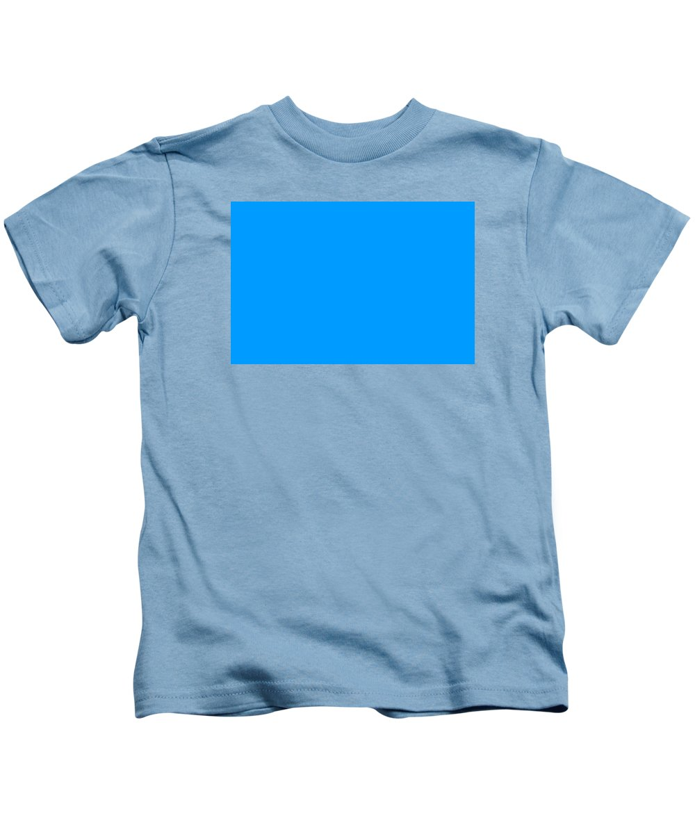 Abstract Kids T-Shirt featuring the digital art C.1.0-155-255.3x2 by Gareth Lewis