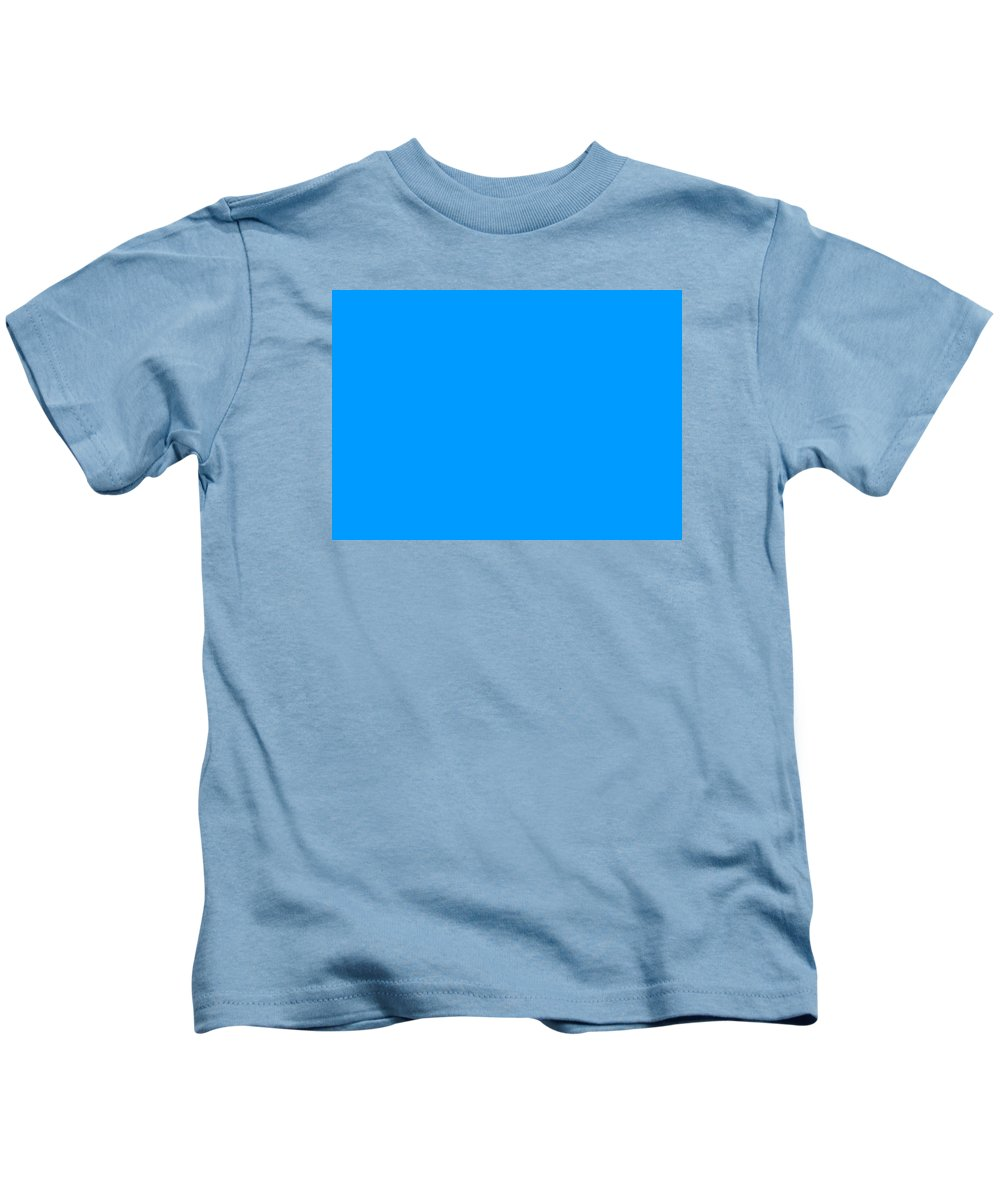 Abstract Kids T-Shirt featuring the digital art C.1.0-155-255.7x5 by Gareth Lewis