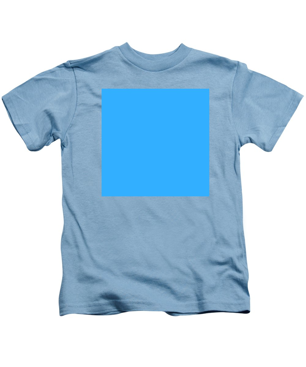 Abstract Kids T-Shirt featuring the digital art C.1.51-175-255.7x7 by Gareth Lewis