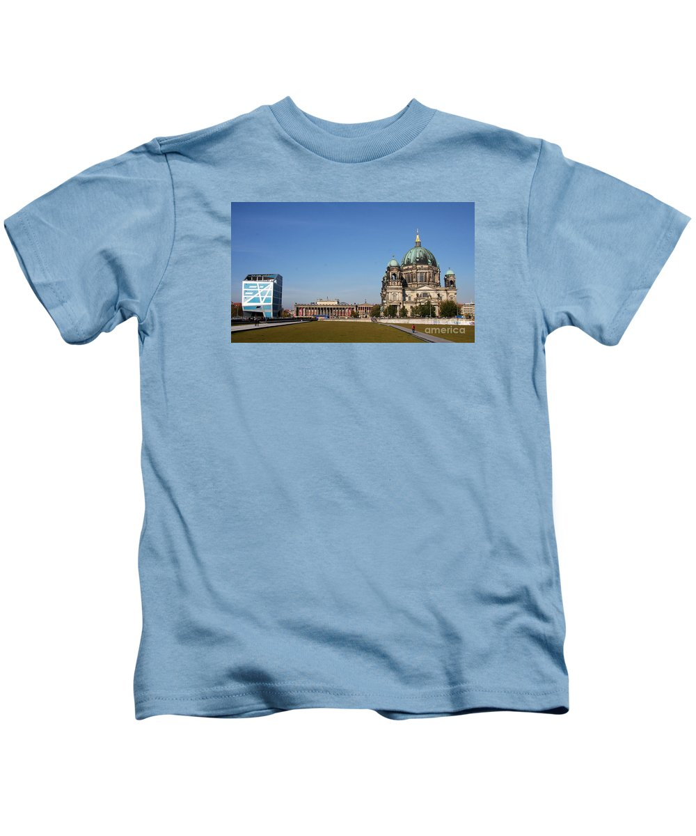 Cathedral Kids T-Shirt featuring the photograph Cathedral And Humboldt Box by Christiane Schulze Art And Photography