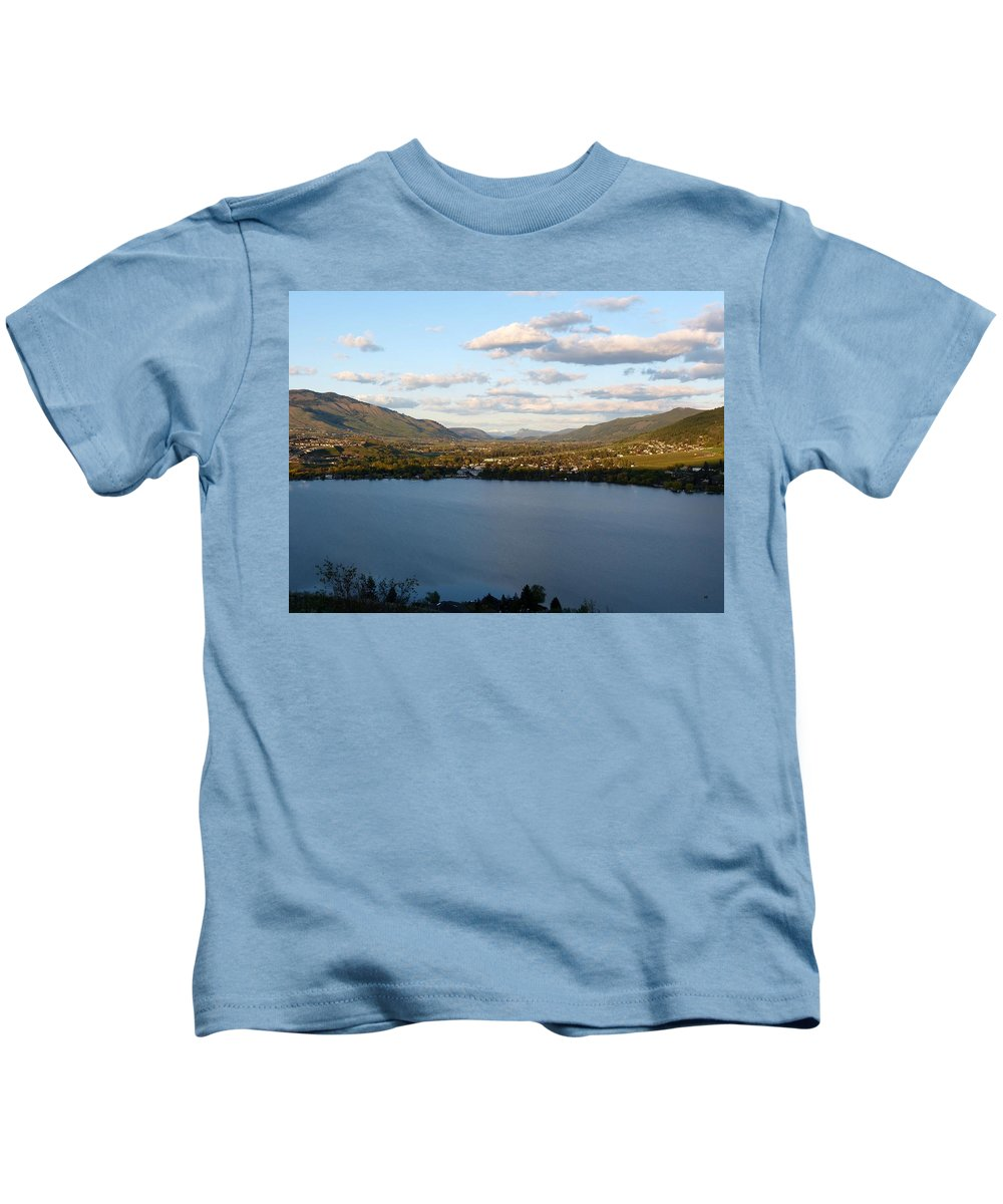 Coldstream Valley Kids T-Shirt featuring the photograph Coldstream Valley In Spring by Will Borden