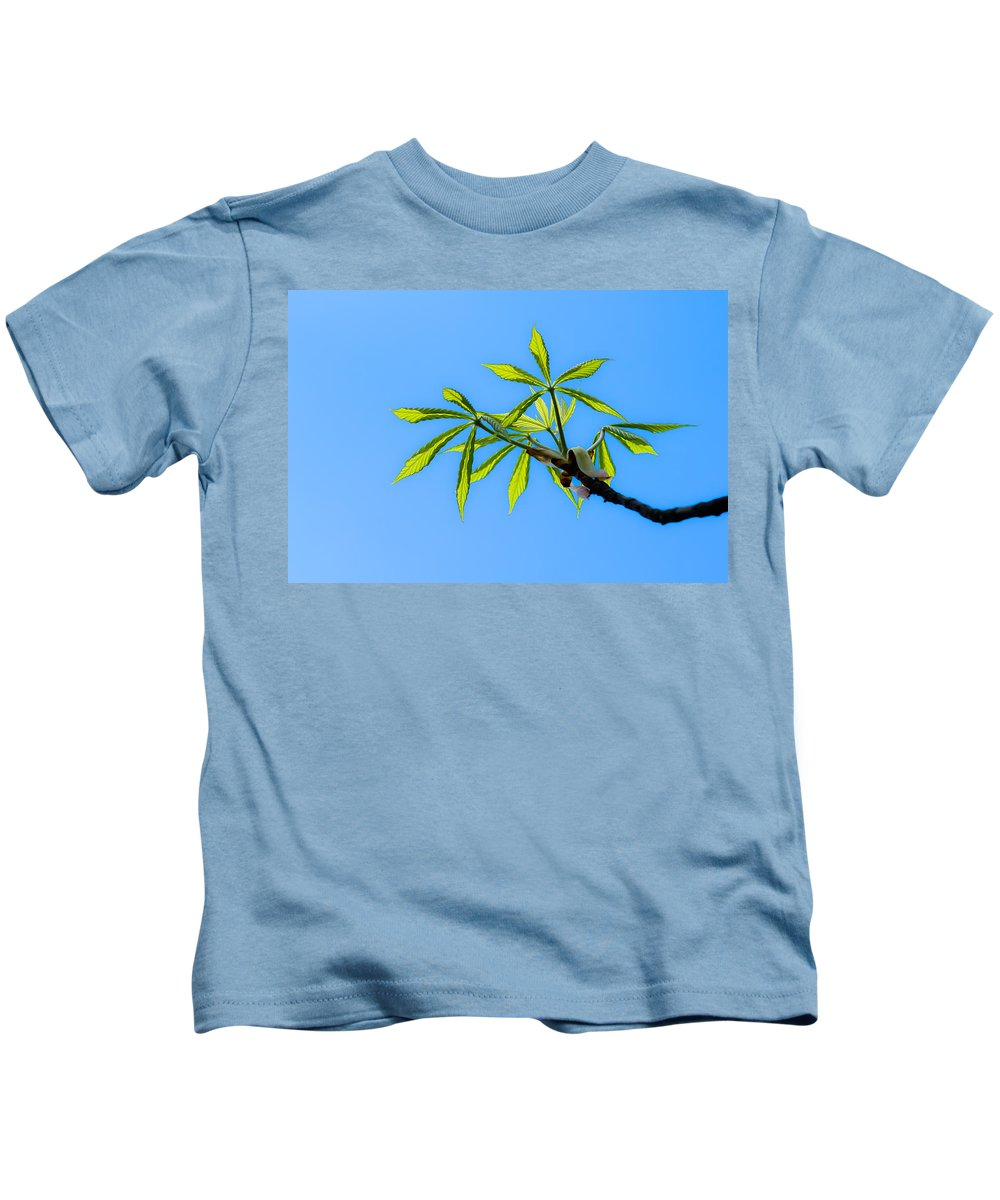 Leave Kids T-Shirt featuring the photograph Consumer Grade Tropics by Alexander Senin