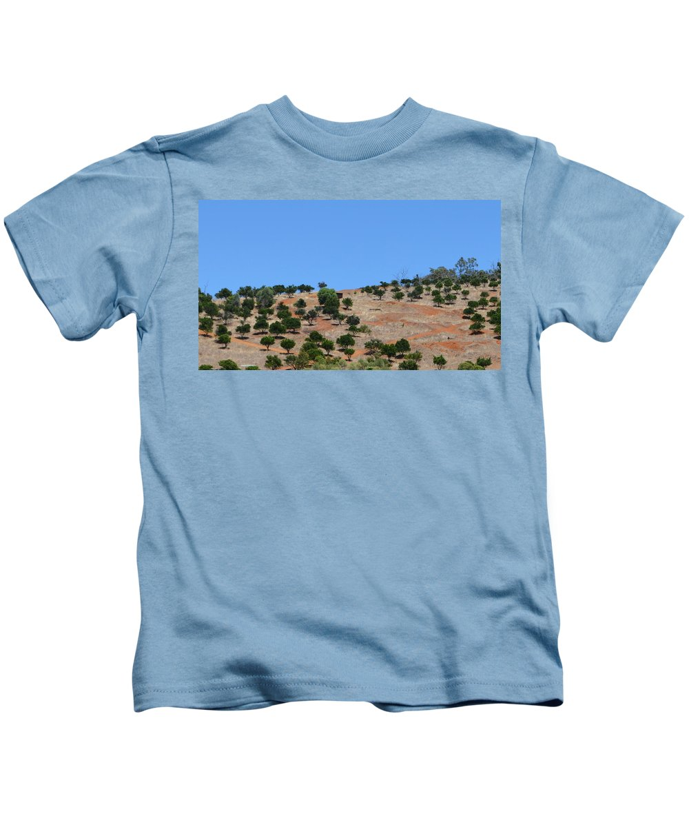 Aussie Kids T-Shirt featuring the photograph Countryside by Cheryl Miller