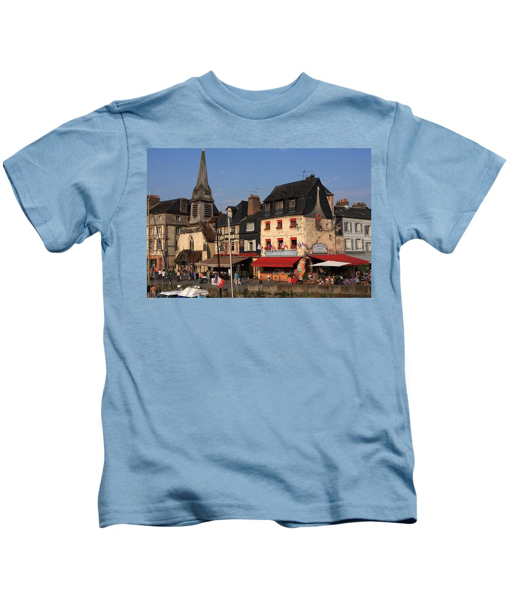 France Kids T-Shirt featuring the photograph France by Aidan Moran
