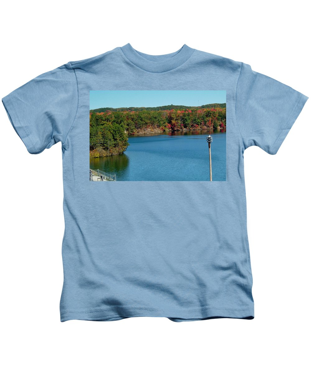 Gull Kids T-Shirt featuring the photograph Gull With Splendid View by Susan Wyman