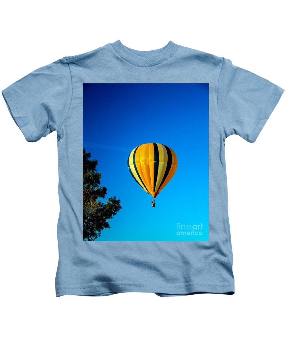 Arizona Kids T-Shirt featuring the photograph Hot Air Balloon by Robert Bales