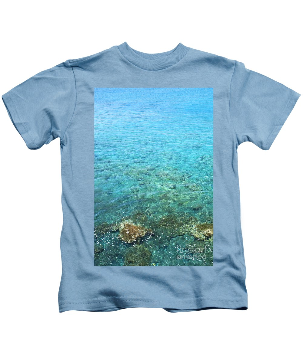 Amazing Kids T-Shirt featuring the photograph La Perouse Water by Jenna Szerlag