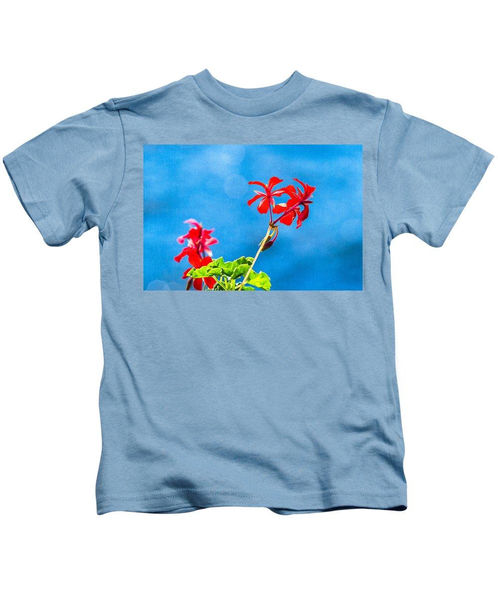 Atoll Kids T-Shirt featuring the photograph Little Paradise by Alexander Senin