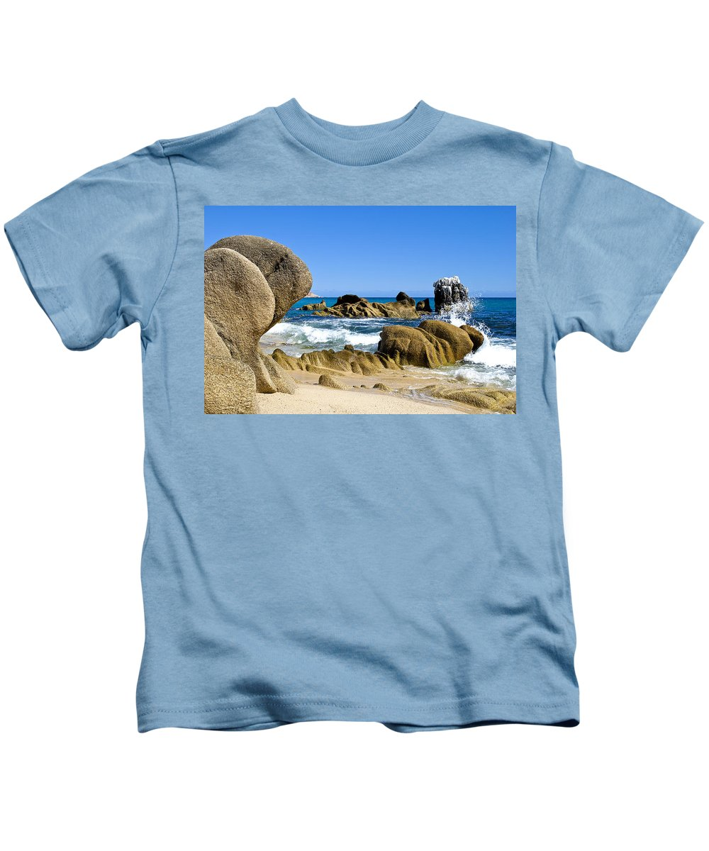 Los Cabos Kids T-Shirt featuring the photograph Los Cabos by Les Lorek