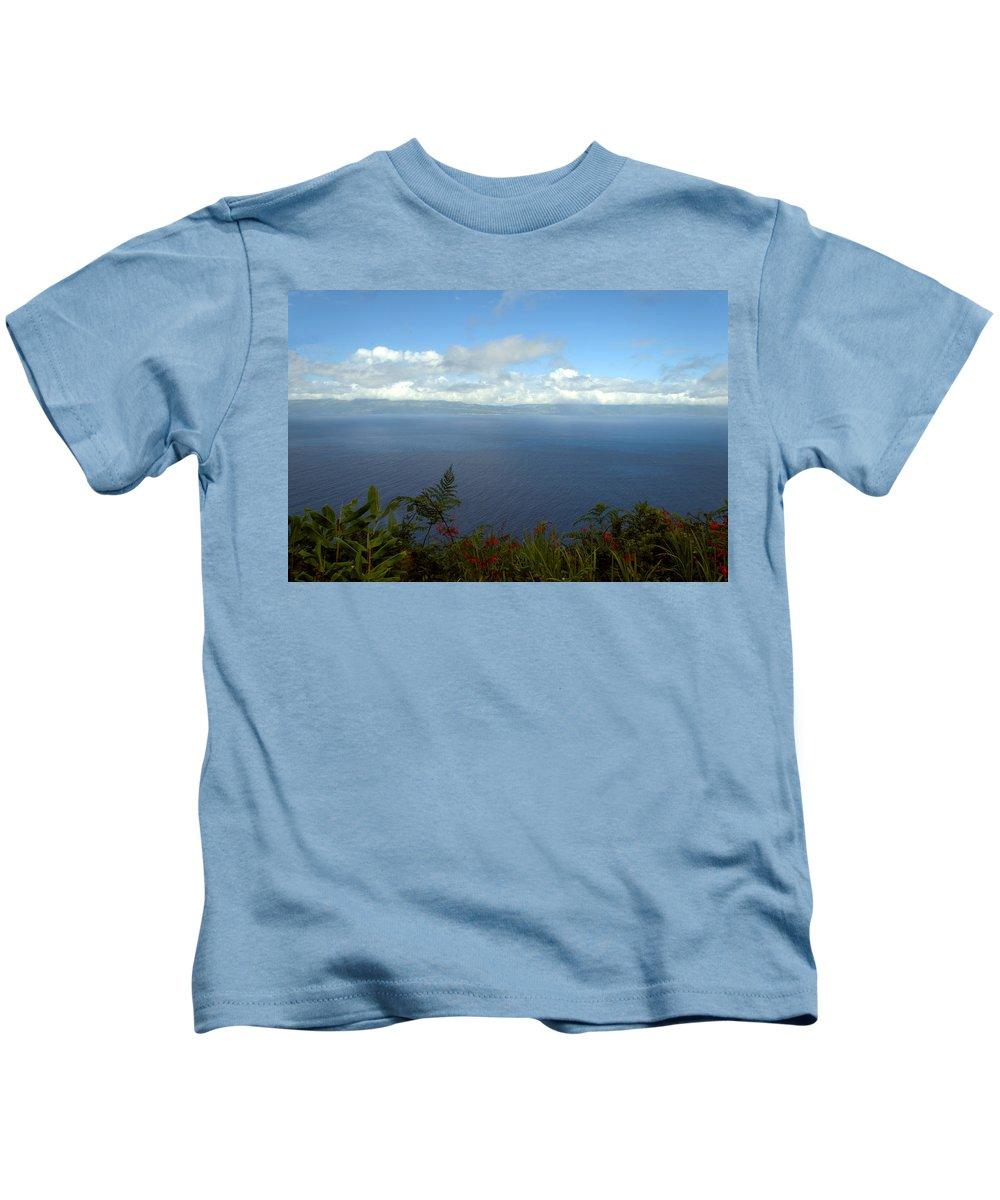 Ocean Kids T-Shirt featuring the photograph Ocean View by M Bernardo