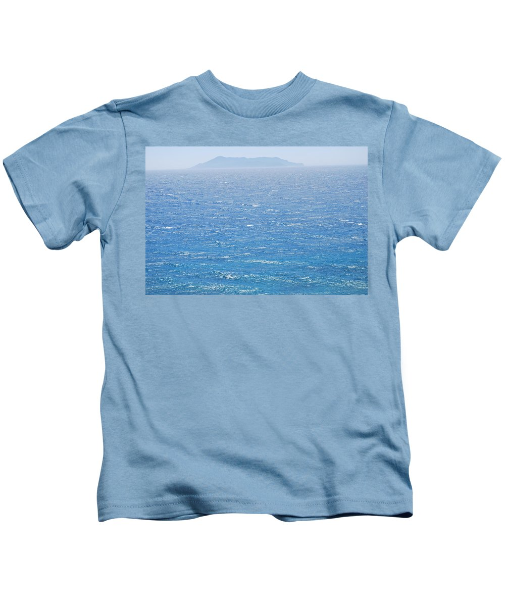 Phano Kids T-Shirt featuring the photograph Phano by George Katechis