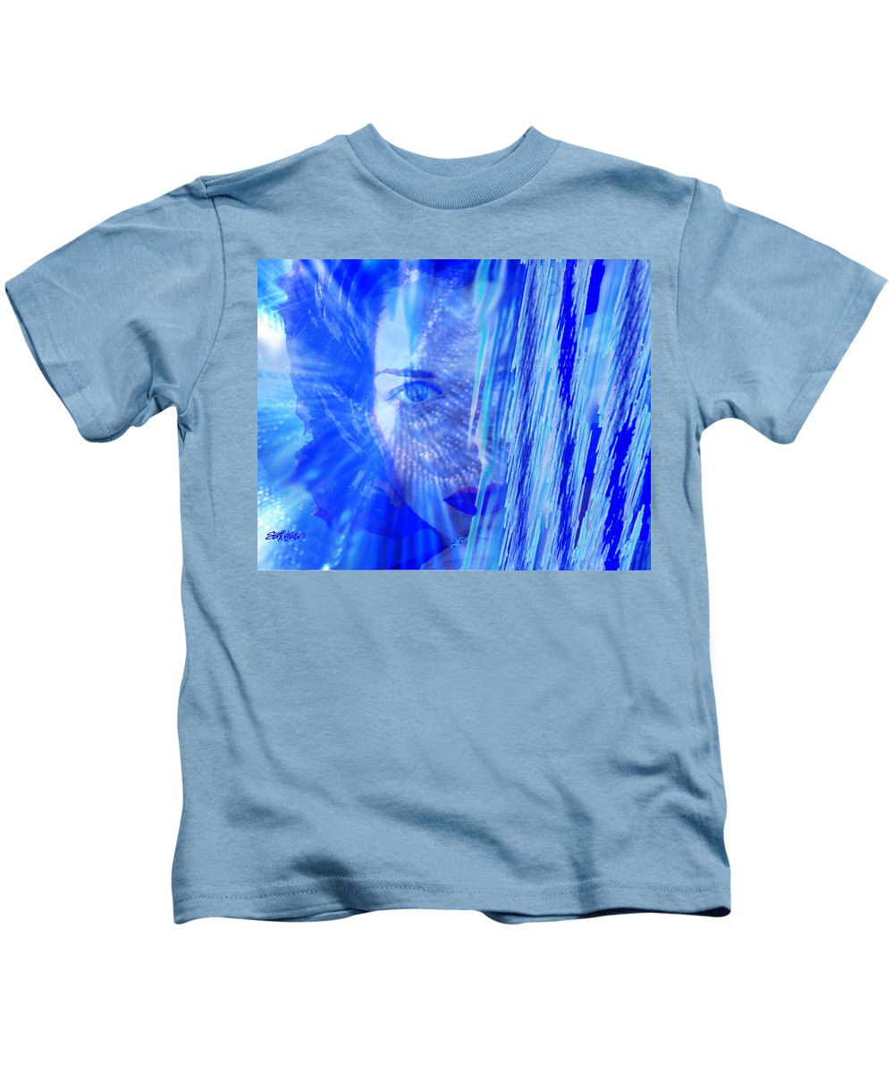 Rainy Day Dreams Kids T-Shirt featuring the digital art Rainy Day Dreams by Seth Weaver