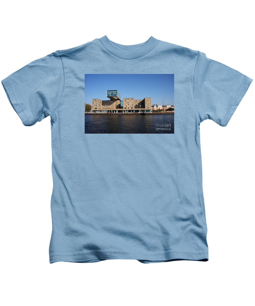 Rebuilt Warehouse Kids T-Shirt featuring the photograph Rebuilt Warehouse by Christiane Schulze Art And Photography