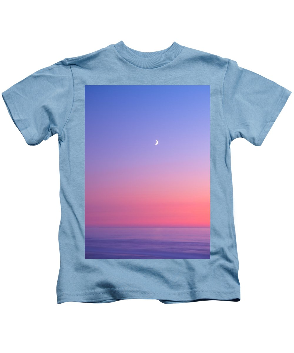 Moon Kids T-Shirt featuring the photograph Simplistic Wonders Of The Earth by Darren White
