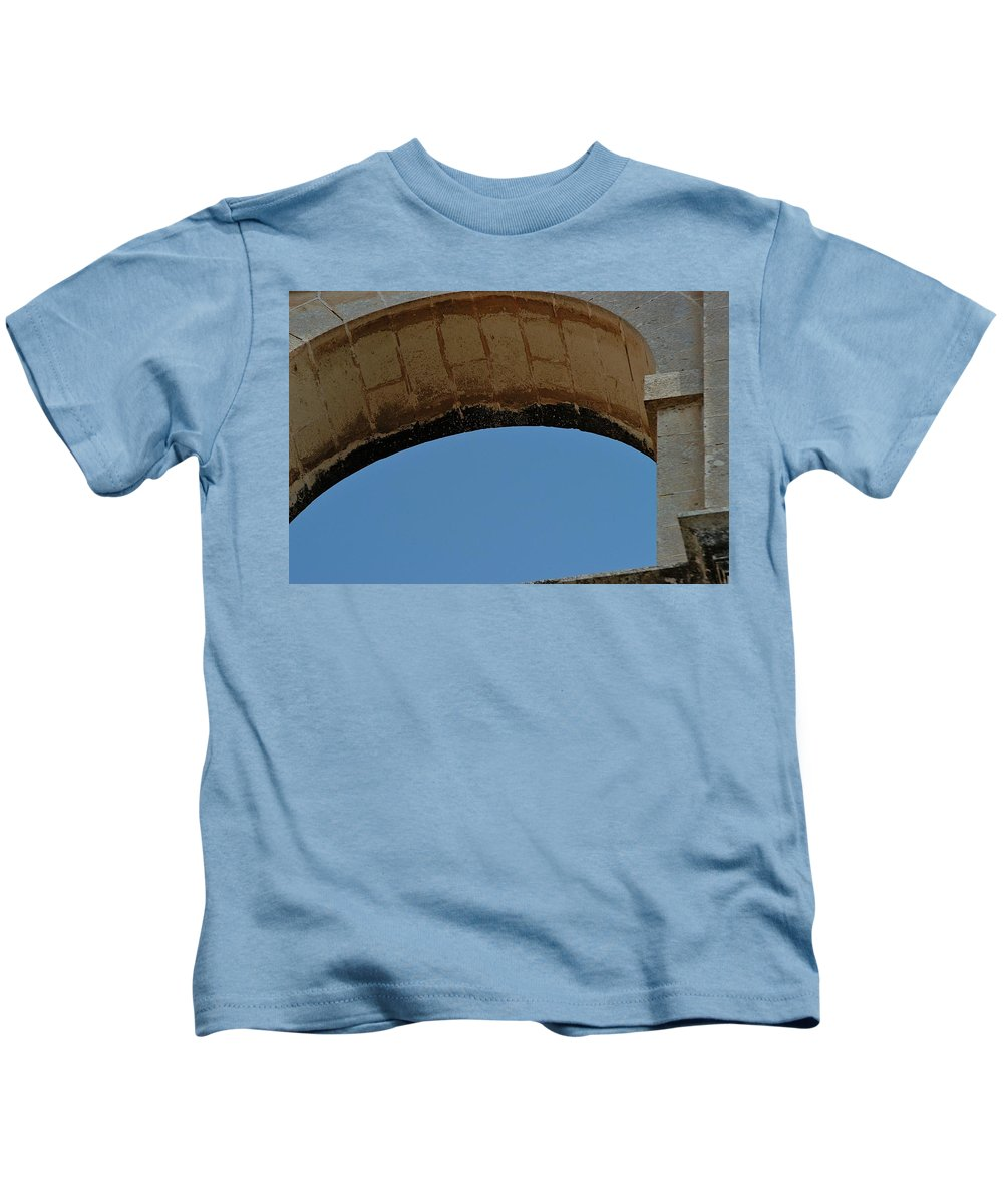 Arch Kids T-Shirt featuring the photograph Sky Cutter by Joseph Yarbrough