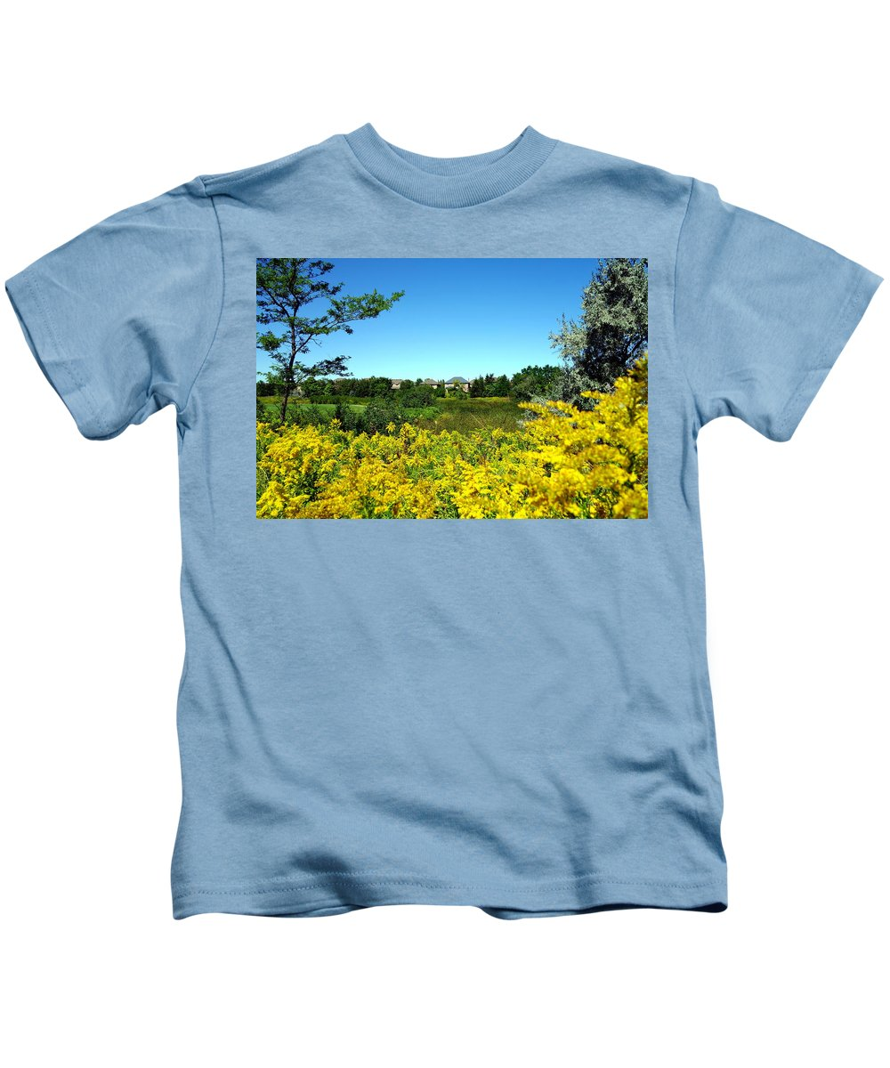 Suburbs Kids T-Shirt featuring the photograph Suburban Heaven by Valentino Visentini