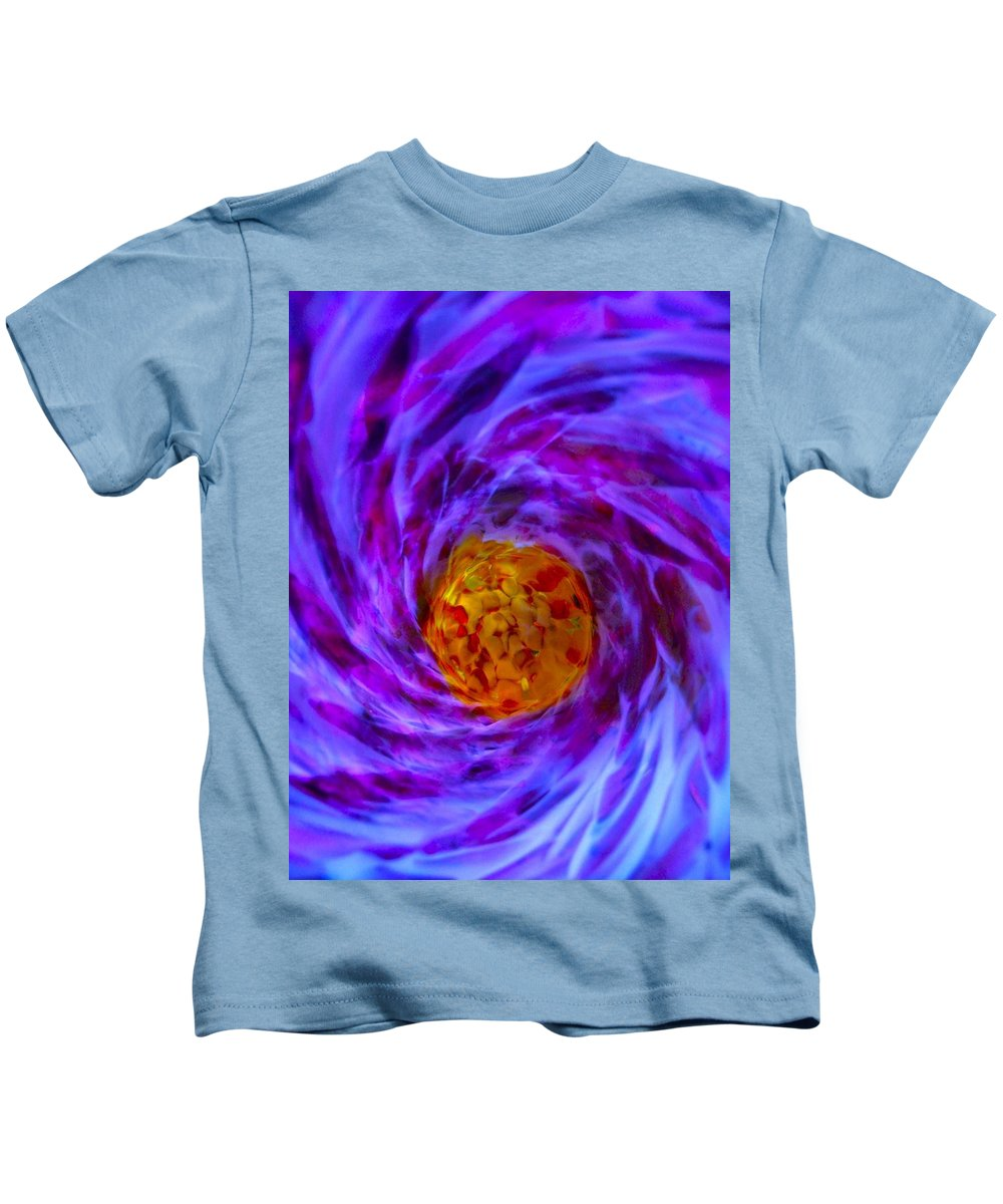 Space Kids T-Shirt featuring the photograph Tardus Timelord Tunnel by Tim G Ross