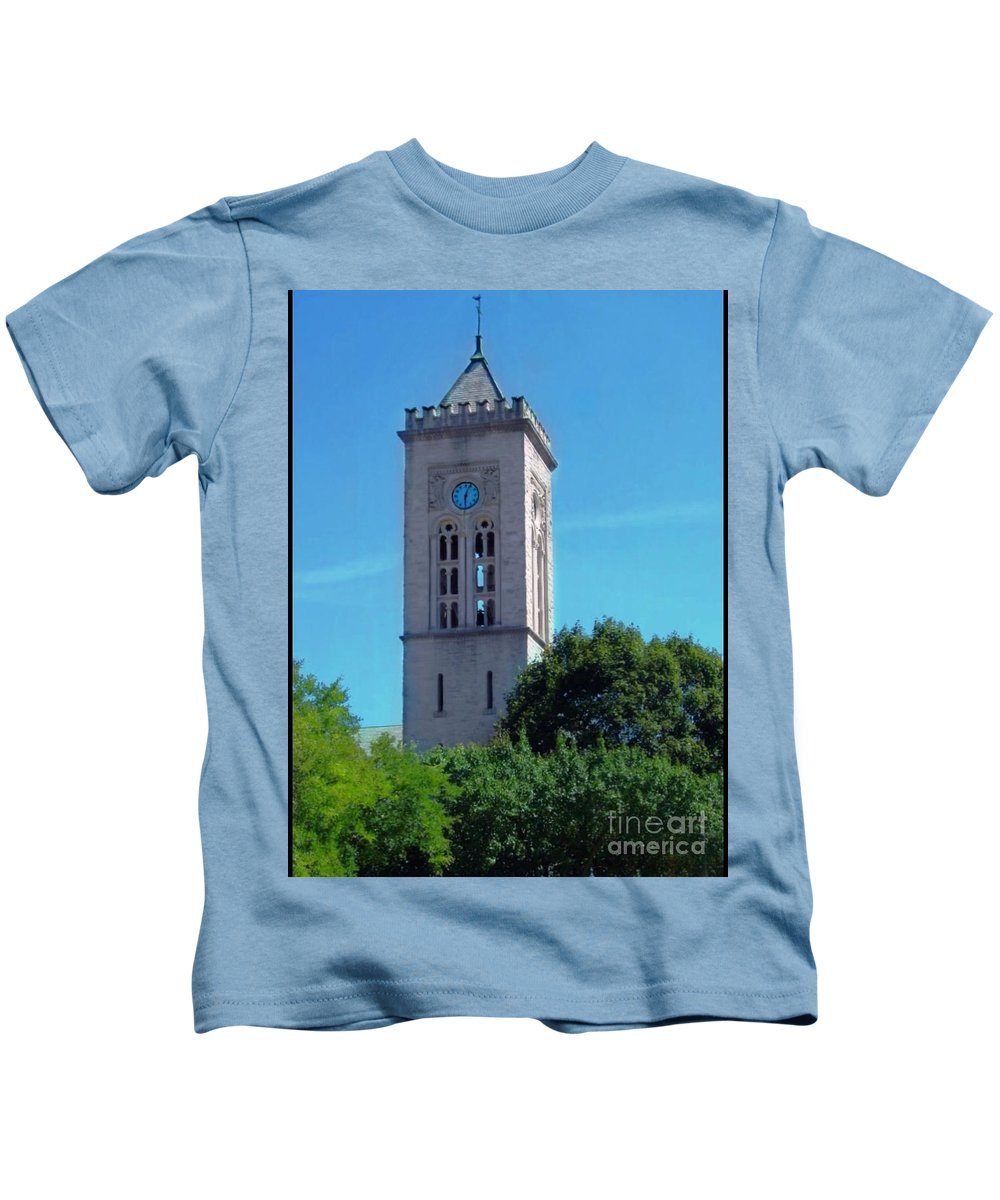 Church Kids T-Shirt featuring the photograph The Bell Tower 1 by Becky Lupe