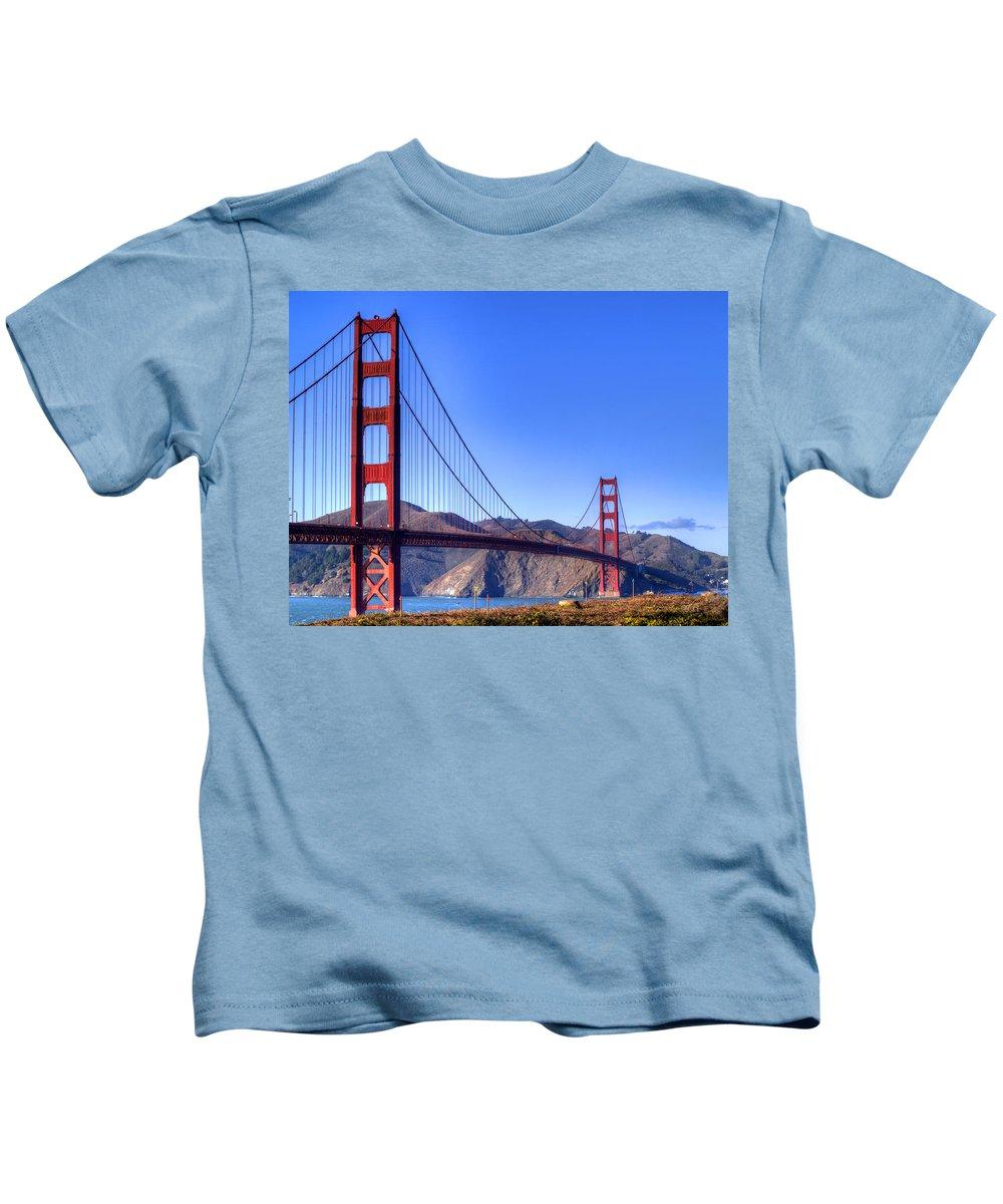 Golden Gate National Recreation Area Photographs Kids T-Shirts