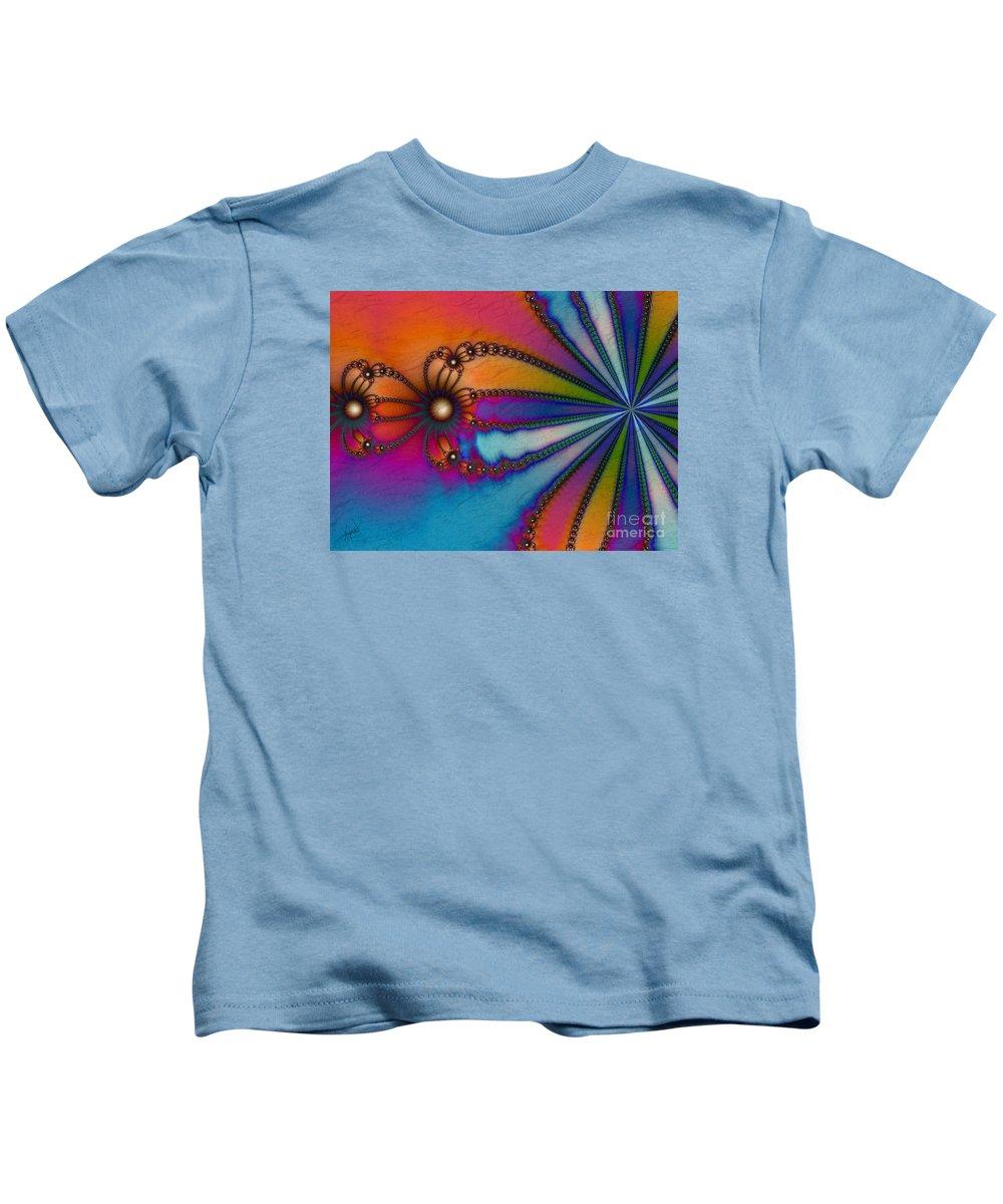 Tye Dye Kids T-Shirt featuring the digital art Tye Dye by Kimberly Hansen