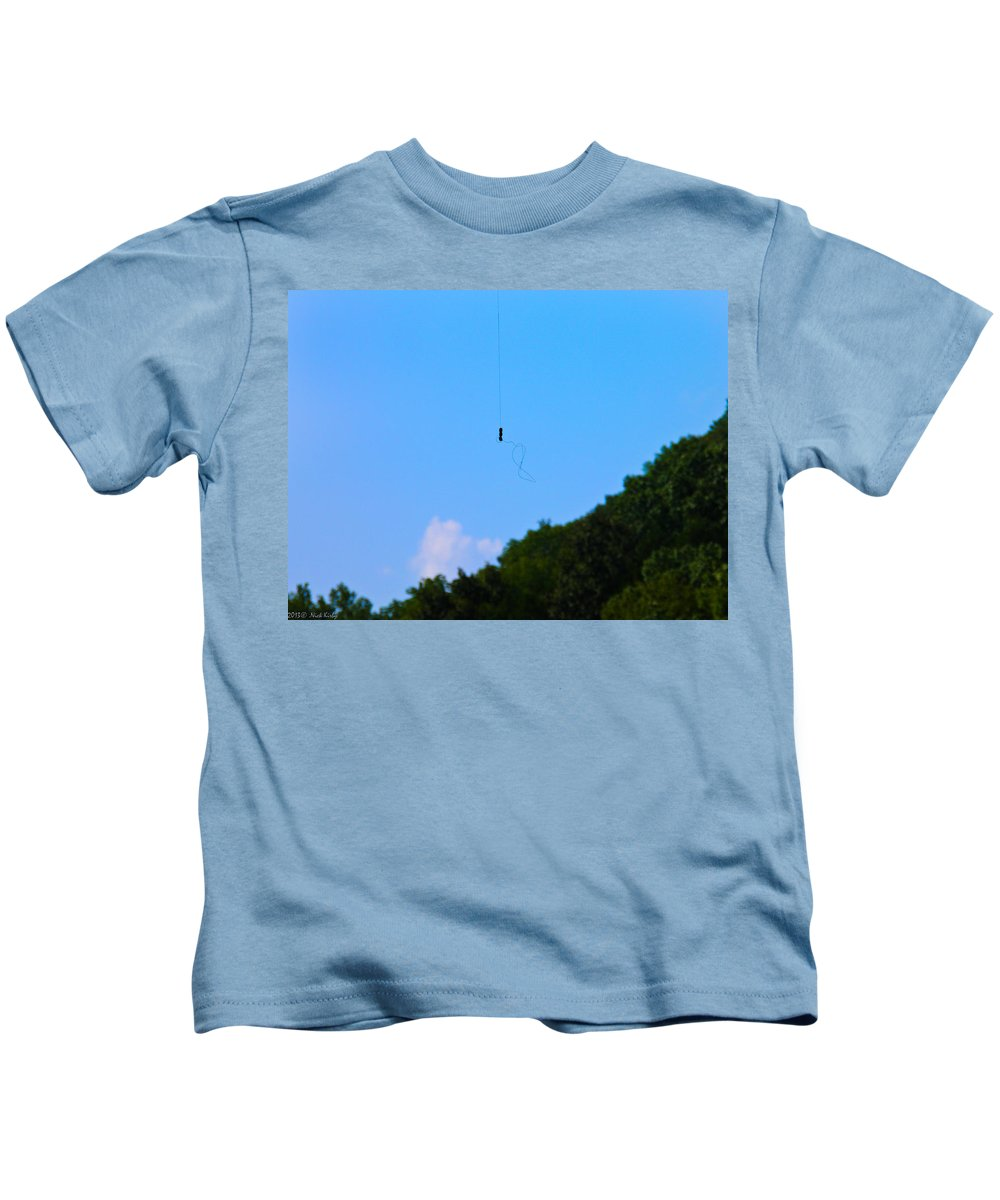 Sinker Kids T-Shirt featuring the photograph UHO by Nick Kirby