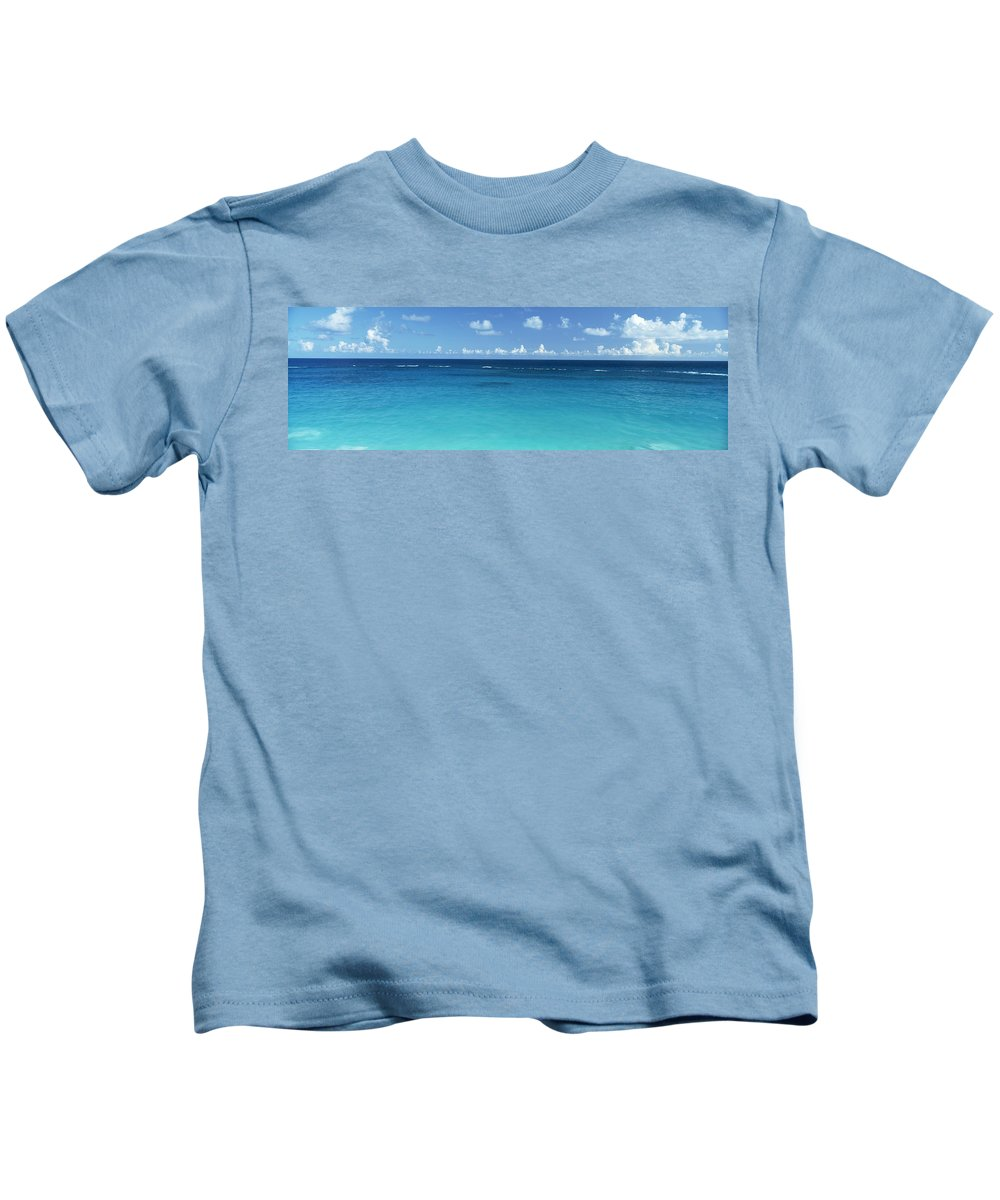 Photography Kids T-Shirt featuring the photograph View Of The Atlantic Ocean, Bermuda by Panoramic Images