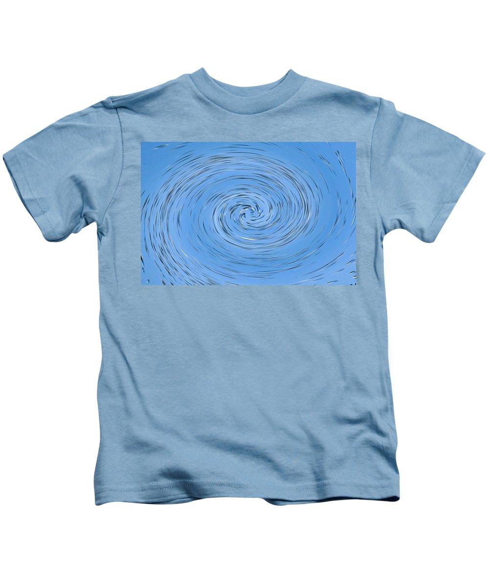 Water Kids T-Shirt featuring the digital art Vortex by David Pyatt