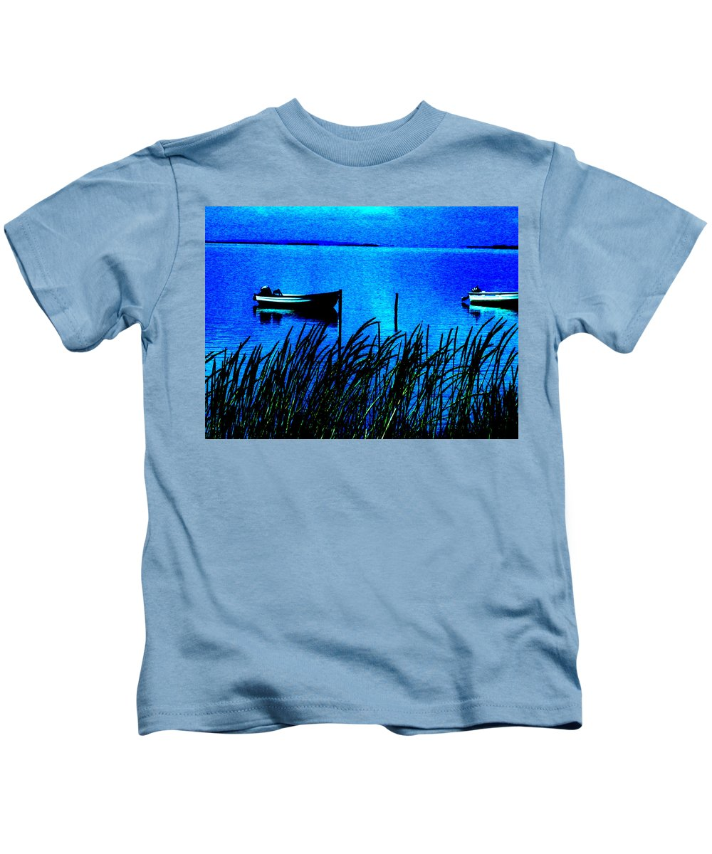 Colette Kids T-Shirt featuring the photograph Waking Up Early Morning by Colette V Hera Guggenheim