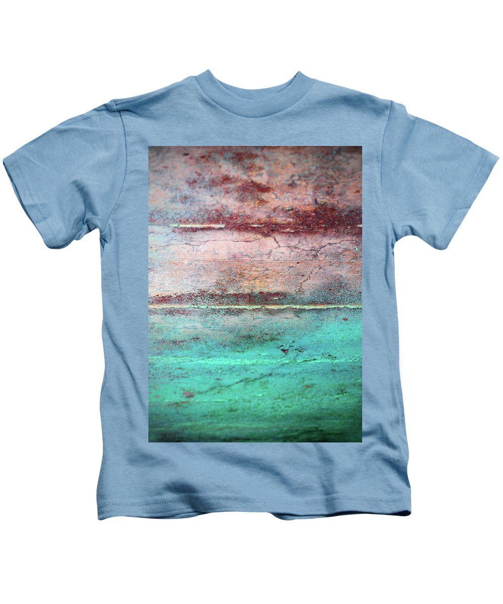 Macro Kids T-Shirt featuring the photograph Water And Sky by Tara Turner