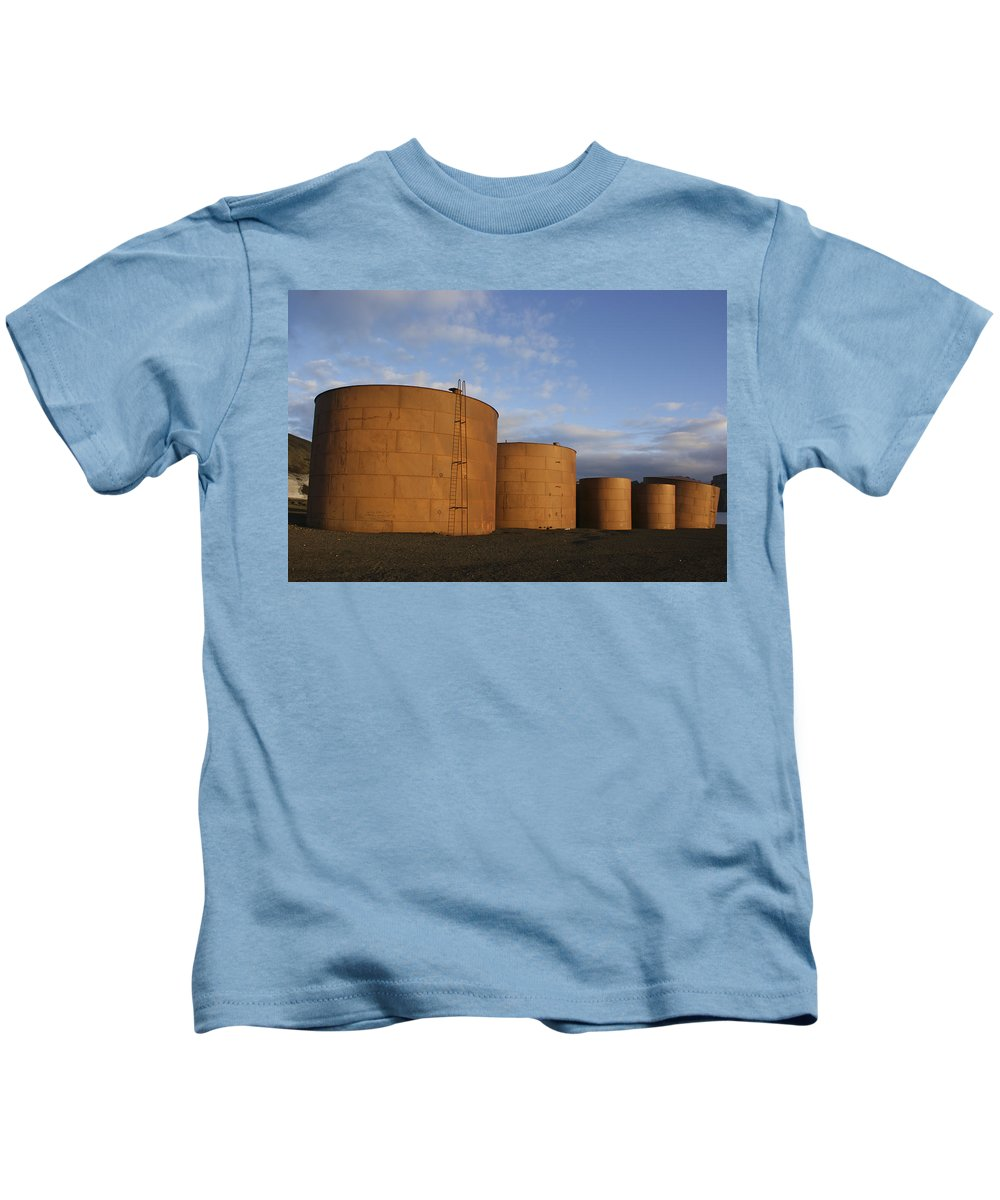 Sky Kids T-Shirt featuring the photograph Whaling Relics by Brian Kamprath