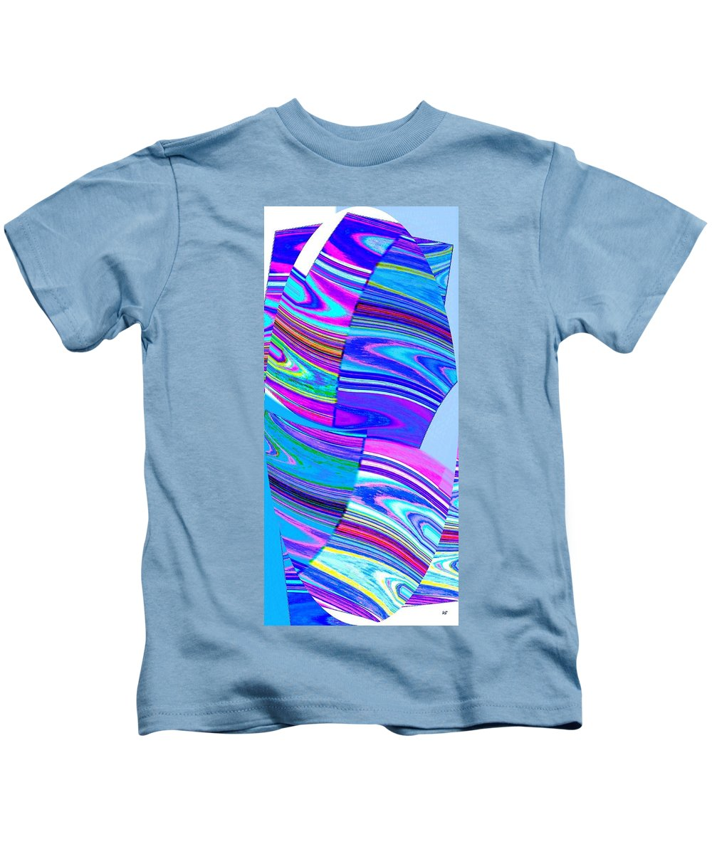 Abstract Fusion Kids T-Shirt featuring the digital art Abstract Fusion 44 by Will Borden