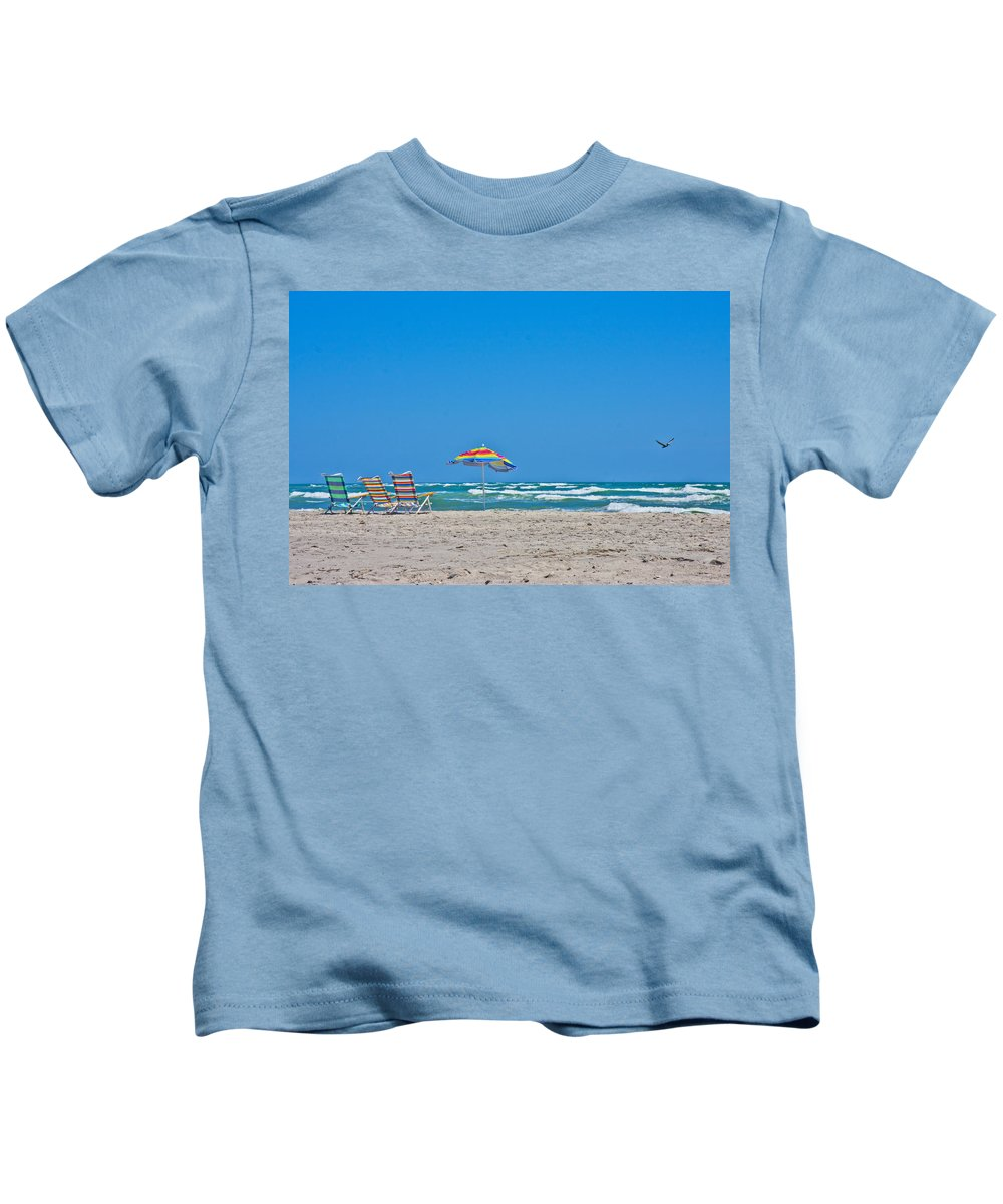 Topsail Kids T-Shirt featuring the photograph Ahhh Vacation by Betsy Knapp
