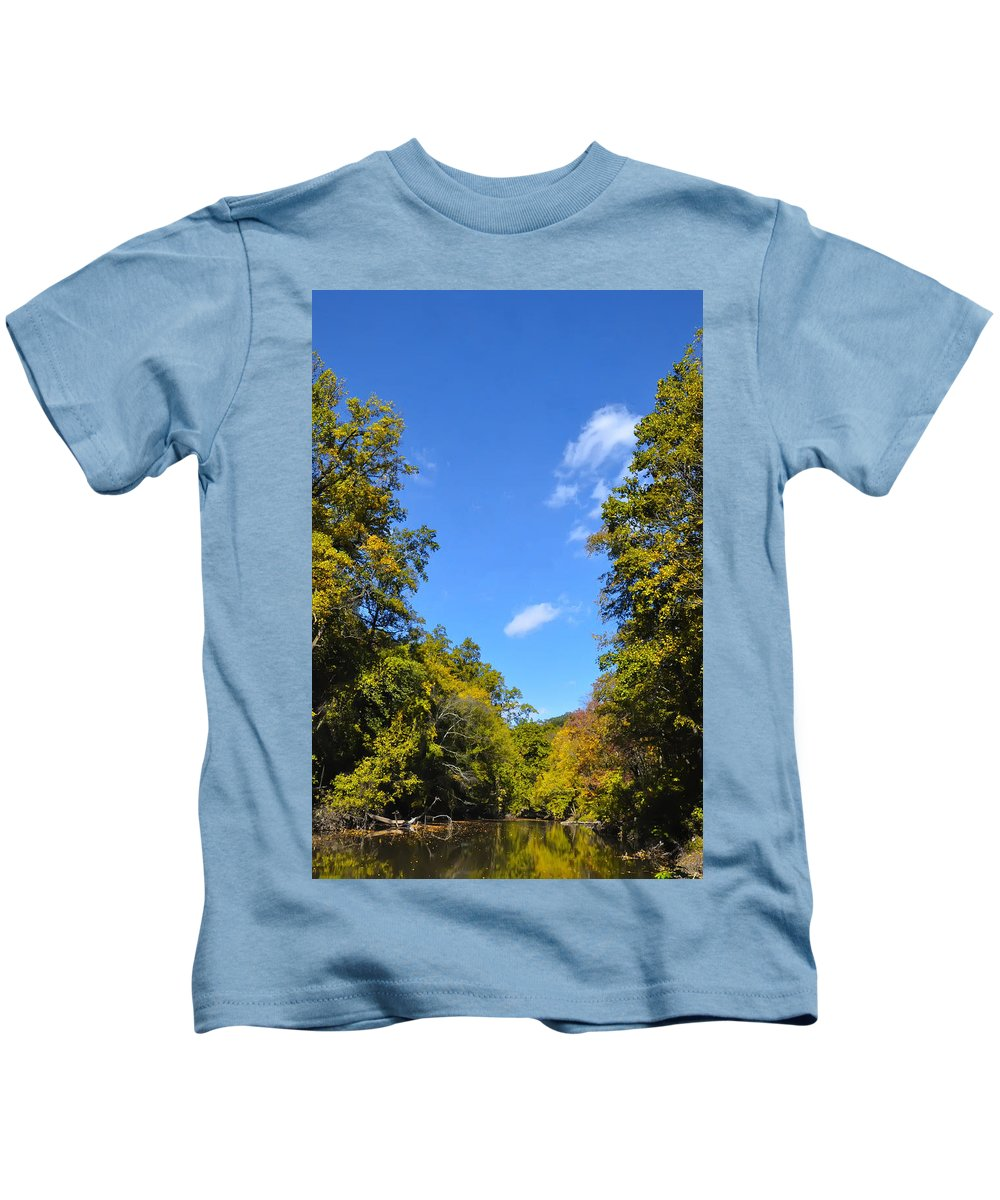 Autumn Kids T-Shirt featuring the photograph Autumn In Pennsylvania by Bill Cannon