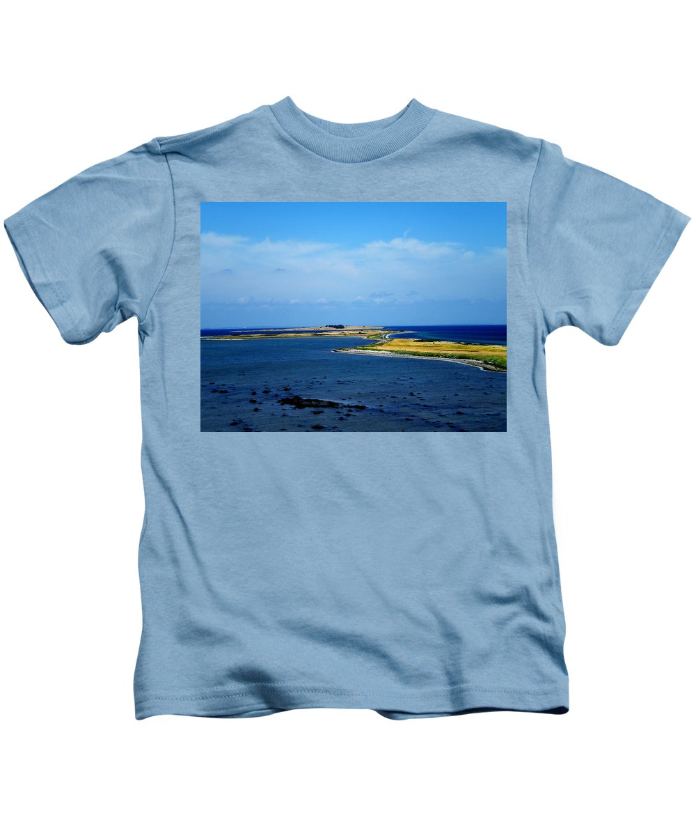 Colette Kids T-Shirt featuring the photograph besser Reef Samsoe Island by Colette V Hera Guggenheim