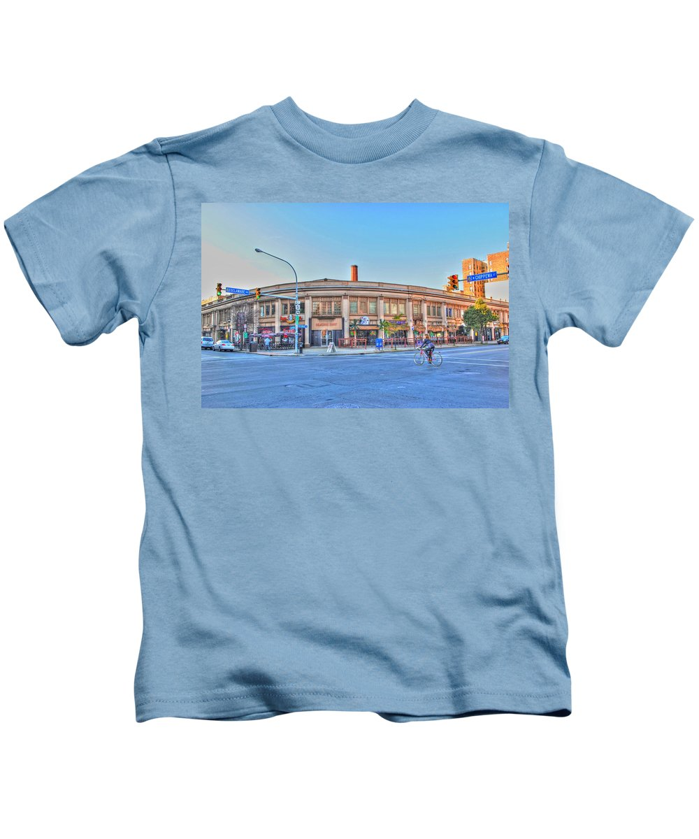 Kids T-Shirt featuring the photograph Chippewa And Delaware by Michael Frank Jr