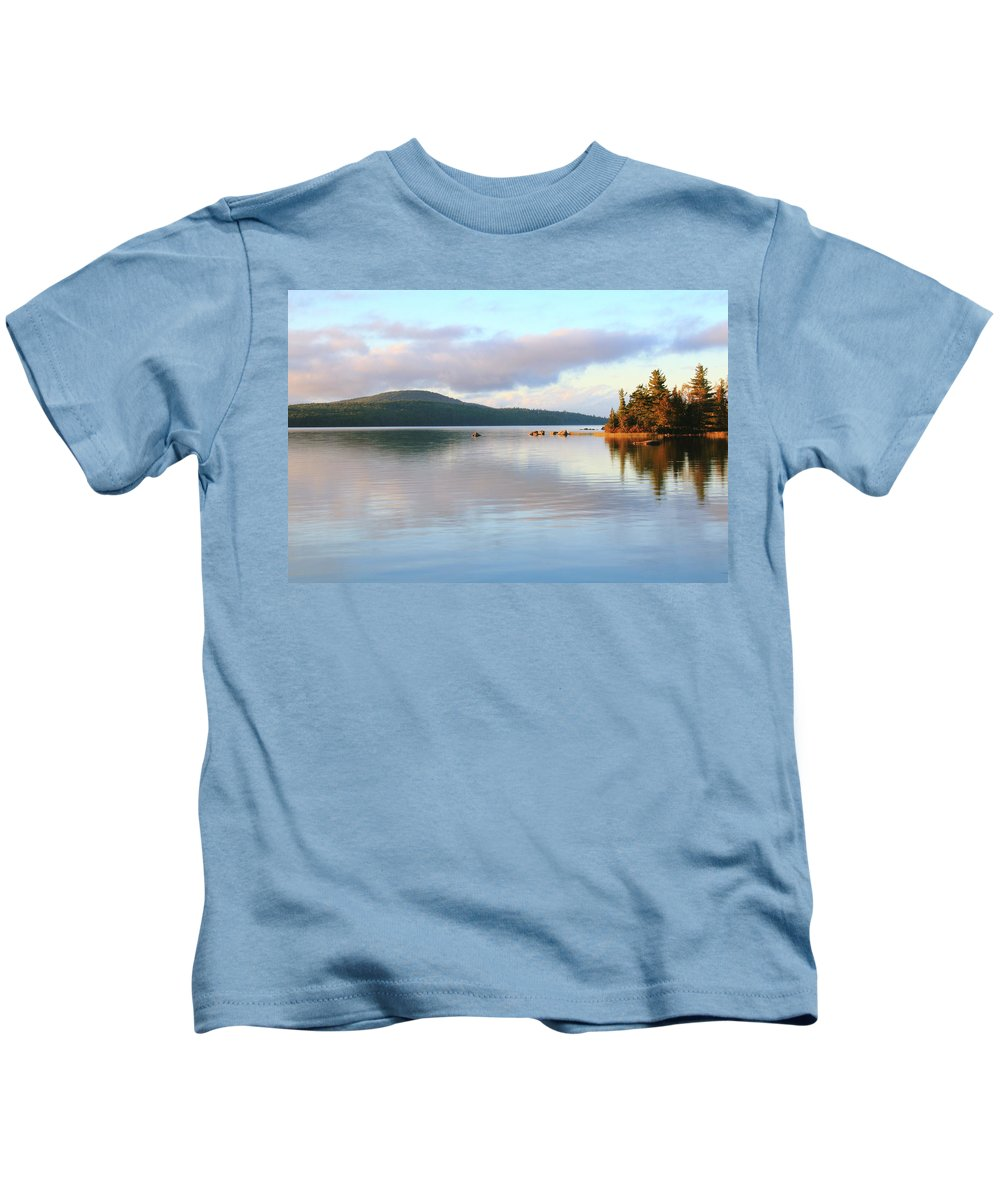 Eagle Lake Kids T-Shirt featuring the photograph Eagle Lake by Roupen Baker