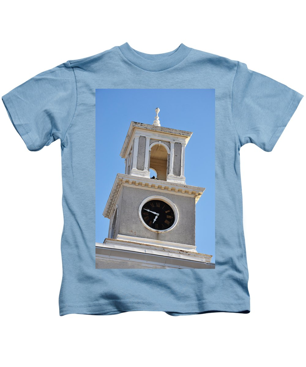 Clock Kids T-Shirt featuring the photograph It's About Time by Bill Cannon