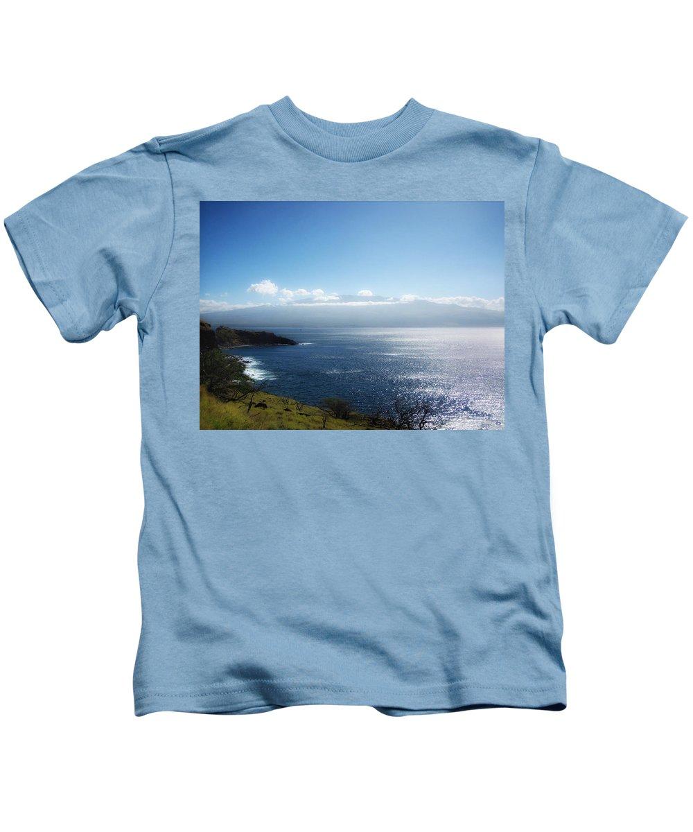 Kauai Kids T-Shirt featuring the photograph Maui Wonder by Linda Dunn