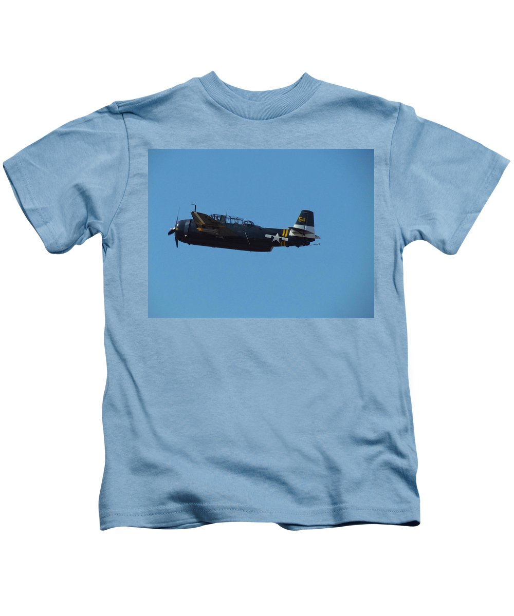 Kids T-Shirt featuring the photograph Planes by Elizabeth Harshman