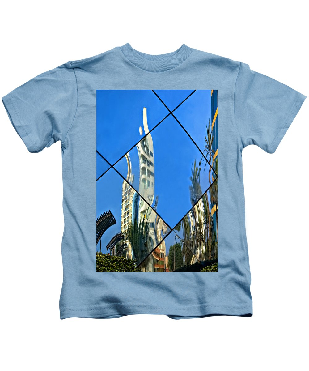 Reflection Kids T-Shirt featuring the photograph Reflecting On Peru by Steve Harrington