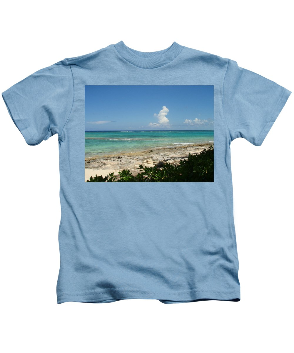 Cay Kids T-Shirt featuring the photograph Sandals Cay by Kimberly Perry