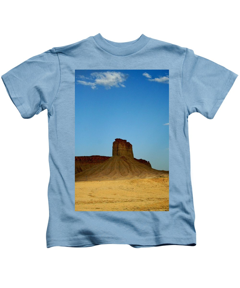 Desert Kids T-Shirt featuring the photograph Sentinel by Ellen Heaverlo
