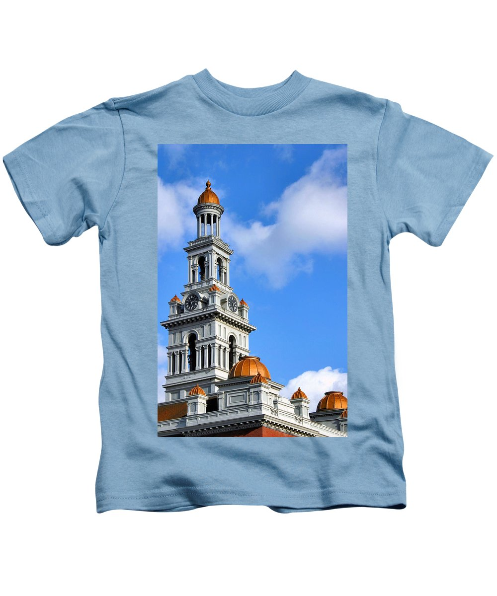 Courthouse Kids T-Shirt featuring the photograph Sevier County Courthouse by Kristin Elmquist