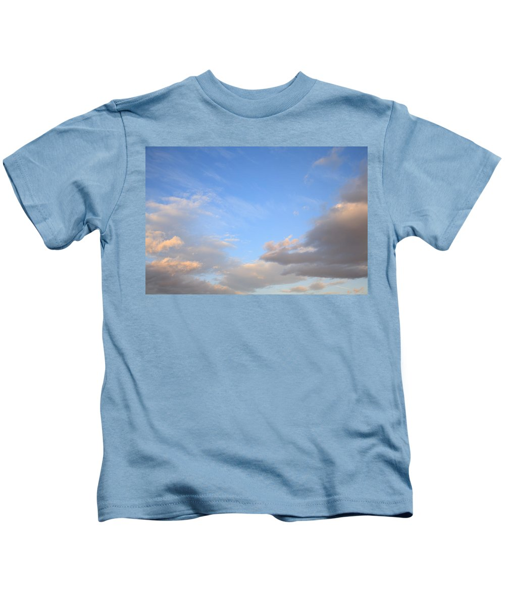 Weather Kids T-Shirt featuring the photograph Sky And Clouds by Ian Middleton