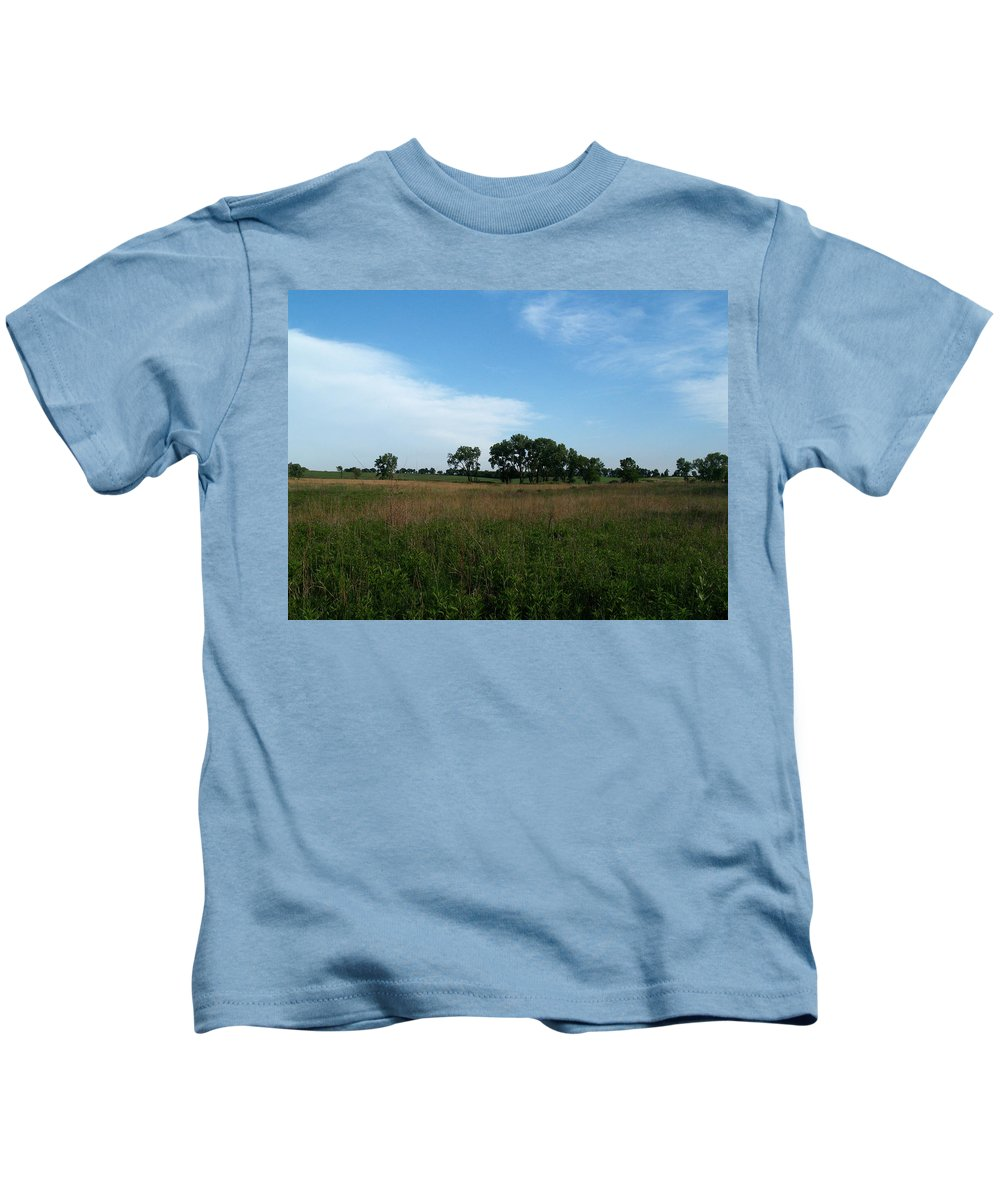 Beatrice Kids T-Shirt featuring the photograph The First Homestead by Joshua House